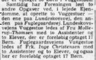 Uddrag af årsberetningen fra 1947, trykt i Villabyerne 16. sep. 1948